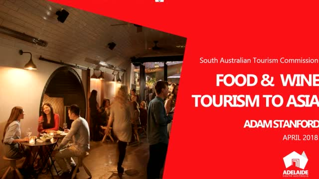 Australia- Korea Food Tourism Business Development Event - Adam Stanford