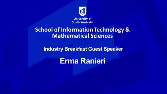 ITMS Breakfast 2016  Erma Ranieri