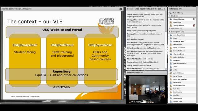 Teaching Innovation Unit webinar - Michael Sankey